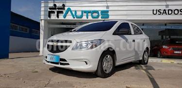 Chevrolet Prisma LS Joy + usado (2018) color Blanco precio $569.000