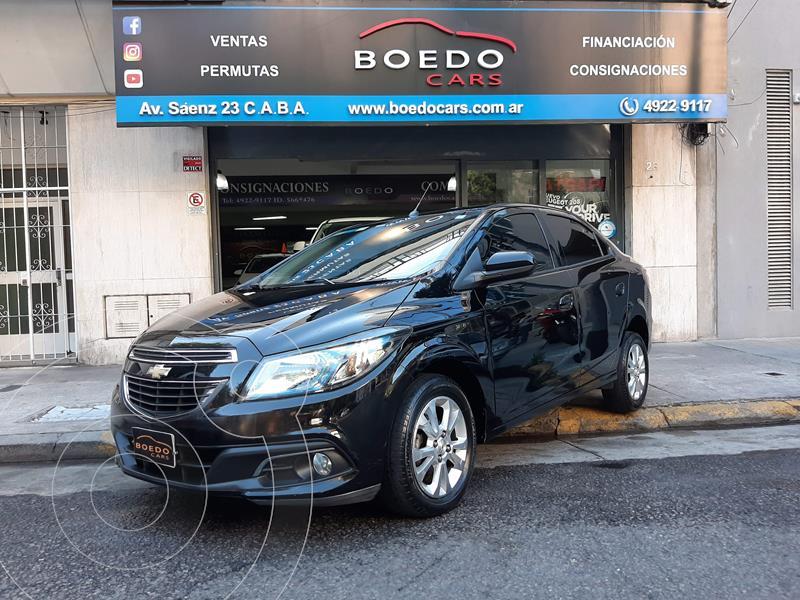 Chevrolet Prisma 1.4 8v LTZ MT (98cv) usado (2013) color Negro precio $809.900