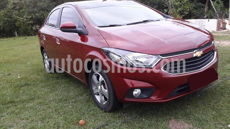 Chevrolet Prisma LTZ usado (2017) color Rojo precio $730.000
