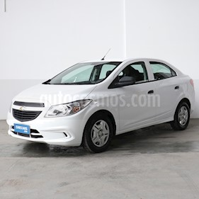 Chevrolet Prisma Joy LS + usado (2018) color Blanco precio $435.000