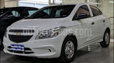 Chevrolet Prisma LS Joy + usado (2017) color Blanco precio $490.000