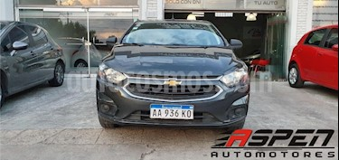 Chevrolet Prisma LTZ Aut usado (2017) color Gris Oscuro precio $590.000