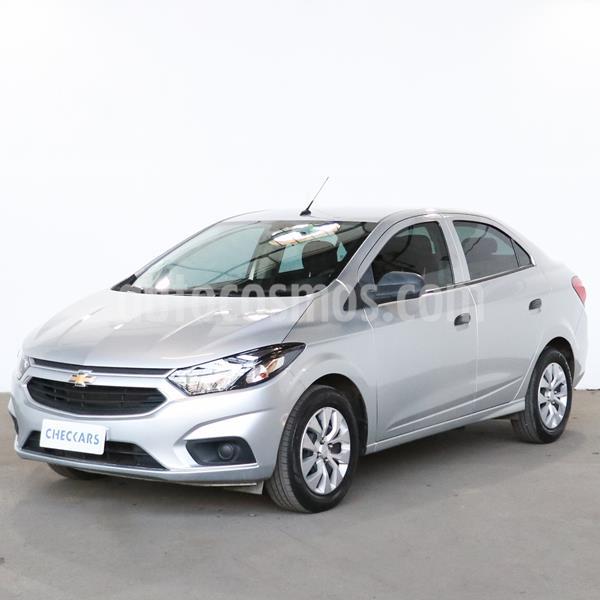 Chevrolet Prisma LT usado (2018) color Gris Plata  precio $917.300