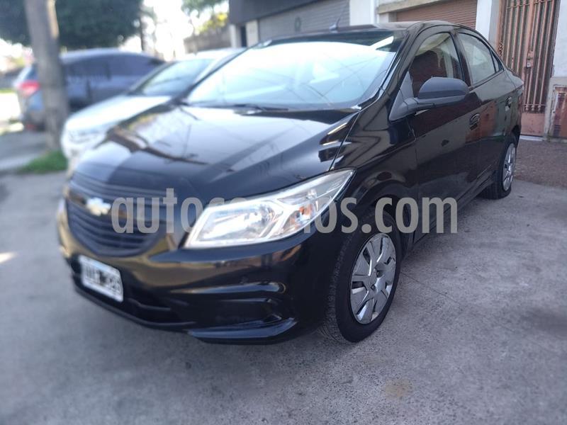 Chevrolet Prisma LT usado (2014) color Negro precio $530.000