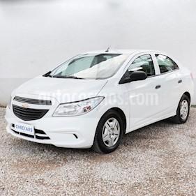 Foto venta Auto usado Chevrolet Prisma LS Joy + (2018) color Gris Claro precio $395.000