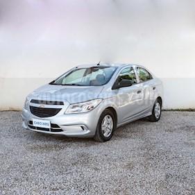 Foto venta Auto usado Chevrolet Prisma LS Joy + (2017) color Gris Claro precio $359.000