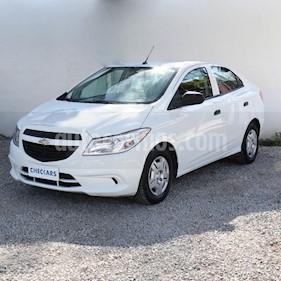 Chevrolet Prisma Joy LS + usado (2018) color Blanco precio $430.000