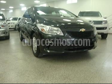 Chevrolet Prisma Joy LS + usado (2018) color Gris Oscuro precio $505.000