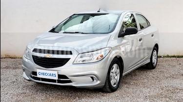 Foto venta Auto usado Chevrolet Prisma LS Joy + (2017) color Gris Claro precio $365.000