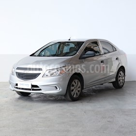 Foto venta Auto usado Chevrolet Prisma LT (2014) color Gris precio $375.000