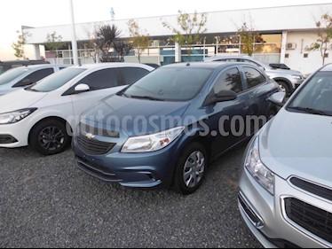 Foto venta Auto usado Chevrolet Prisma LT (2019) color Gris Oscuro precio $610.000