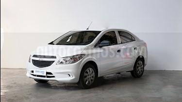 Foto venta Auto usado Chevrolet Prisma LT (2014) color Blanco precio $370.000