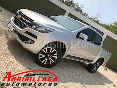 Chevrolet S 10 LTZ 2.8 4x4 CD Aut usado (2018) color Plata Switchblade precio $1.820.000