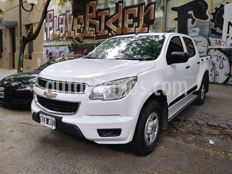 Chevrolet S 10 LS 2.8 4x2 CD usado (2014) color Blanco Mahler precio $1.690.000