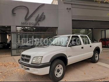 Chevrolet S 10 2.8 TD 4x2 CD usado (2007) color Blanco precio $550.000