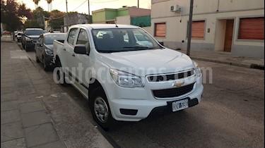 Chevrolet S 10 LS 2.8 4x2 CD usado (2015) color Blanco precio $950.000