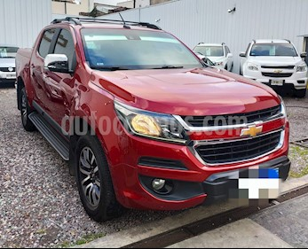 Chevrolet S 10 High Country 2.8 4x4 CD usado (2017) color Rojo precio $2.069.900