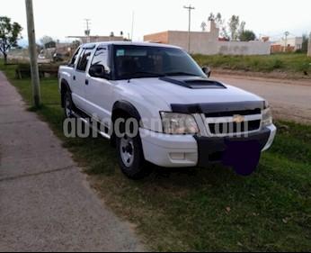 Chevrolet S 10 STD CD 2.8 4x2 TD usado (2010) color Blanco precio $680.000