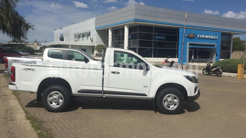 Chevrolet S 10 LS 2.8 4x4 CS usado (2020) color Blanco Summit precio $2.600.000