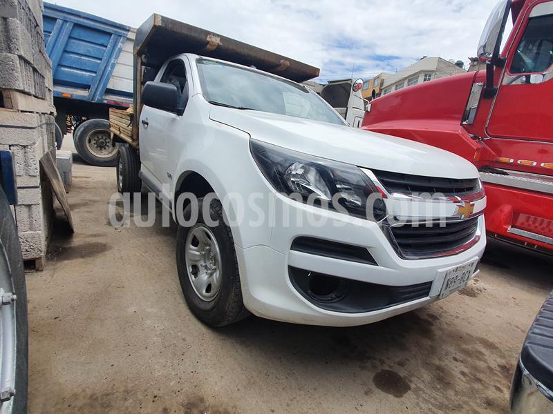 Chevrolet S-10 Pick-Up Ls, Corta, Man. 5 Vel., A-Ac. usado (2017) color Blanco precio $195,000