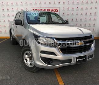 Chevrolet S-10 Doble Cabina usado (2017) color Plata Brillante precio $280,000