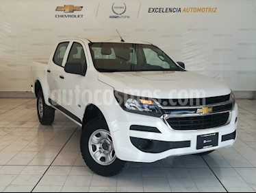 Foto venta Auto Seminuevo Chevrolet S-10 Pick-Up Ls, Corta, Man. 5 Vel., A-Ac. (2017) color Blanco Alpine