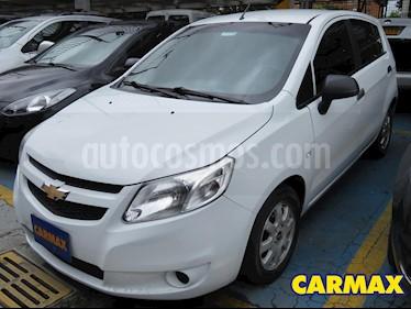 Chevrolet Sail Hatchback 1.4 LT  usado (2015) color Blanco precio $25.900.000