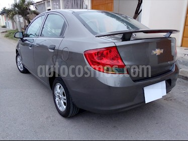 Foto venta Auto usado Chevrolet Sail Sedan 1.4L Ac (2014) color Gris precio u$s12.800