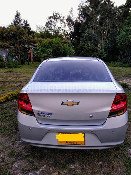 Chevrolet Sail LS  usado (2014) color Gris precio $21.000.000