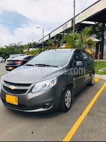 Chevrolet Sail LS  usado (2014) color Gris Galapagos precio $20.800.000