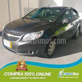 Chevrolet Sail LS Aa usado (2015) color Gris Ocaso precio $20.500.000