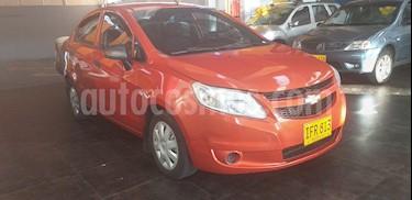 Chevrolet Sail LS Aa usado (2016) color Naranja precio $24.700.000