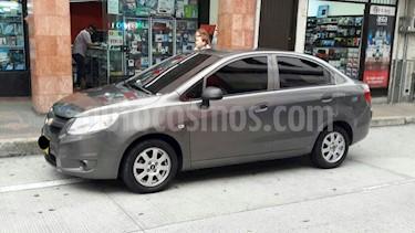 Chevrolet Sail LS Ac  usado (2017) color Gris Ocaso precio $27.000.000