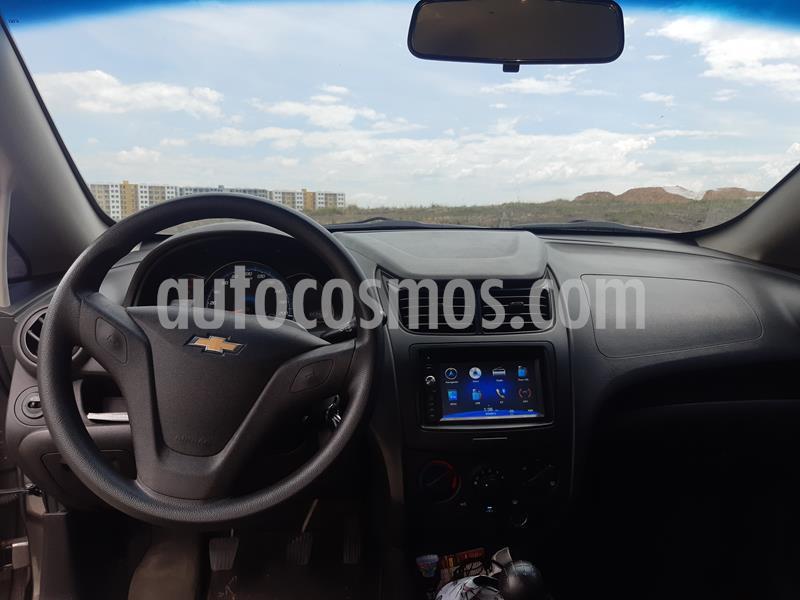 Chevrolet Sail LS Ac  usado (2017) color Gris Galapagos precio $24.900.000