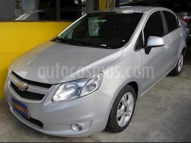Chevrolet Sail LTZ usado (2015) color Plata precio $29.900.000