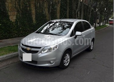 Chevrolet Sail LT  usado (2014) color Gris precio $17.000.000
