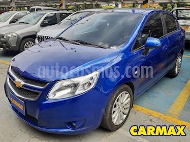 Chevrolet Sail LTZ  usado (2018) color Azul precio $32.900.000