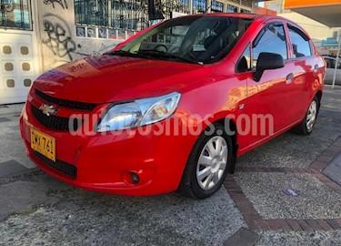 Chevrolet Sail LS Aa usado (2016) color Rojo precio $23.900.000