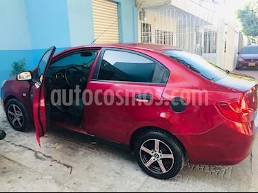 Chevrolet Sail LS Plus usado (2015) color Rojo Borgona precio $21.999.997