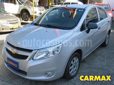 Chevrolet Sail LT Ac usado (2013) color Plata precio $24.900.000