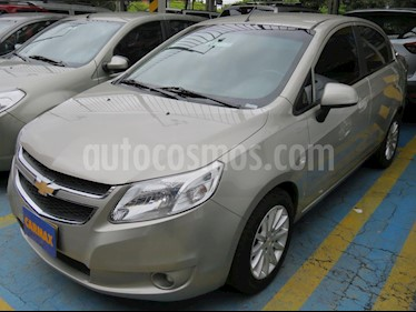 Chevrolet Sail LTZ  usado (2018) color Plata precio $31.900.000