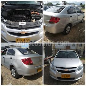 Chevrolet Sail LS  usado (2015) color Plata precio $21.000.000