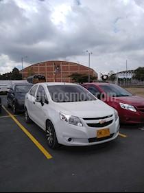 Chevrolet Sail LS Aa usado (2015) color Blanco precio $22.900.000