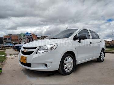 Chevrolet Sail LS Aa usado (2017) color Blanco precio $29.000.000