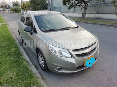 Foto venta Carro usado Chevrolet Sail LS Aa (2015) color Beige Marruecos precio $23.900.000
