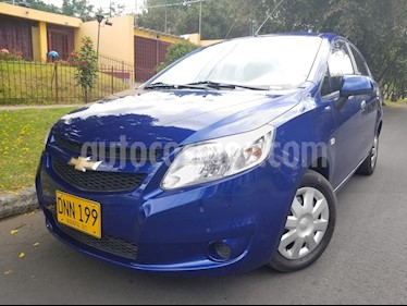 Foto venta Carro Usado Chevrolet Sail LS Aa (2017) color Azul