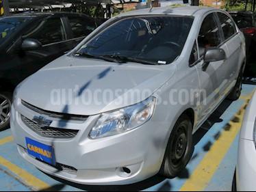 Foto venta Carro usado Chevrolet Sail LS Aa (2018) color Plata precio $27.900.000