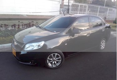 foto Chevrolet Sail LS Aa usado (2015) color Negro Ebony precio $25.900.000