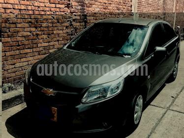 Foto venta Carro usado Chevrolet Sail LS Ac (2015) color Gris precio $24.200.000