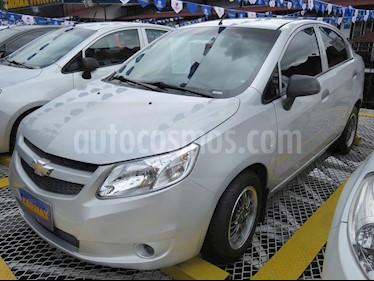 Foto venta Carro usado Chevrolet Sail LS  (2015) color Plata Brillante precio $25.900.000